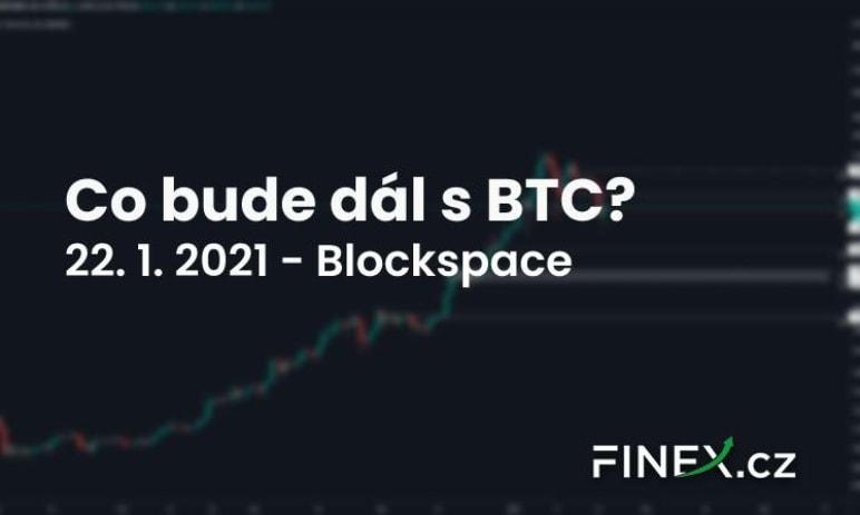 [Bitcoin] Analýza 22. 1. 2021 – Bearish scénář aktivní! Co dál?