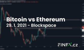 [Bitcoin] Analýza 29. 1. 2021 – Bitcoin vs Ethereum