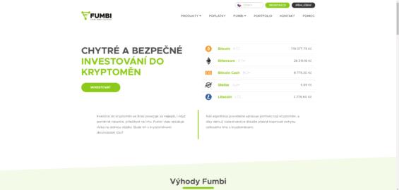 Recenze fumbi - Náhled webových stránek