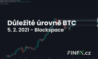 [Bitcoin] Analýza 5. 2. 2021 – Důležité úrovně BTC a IOTA!