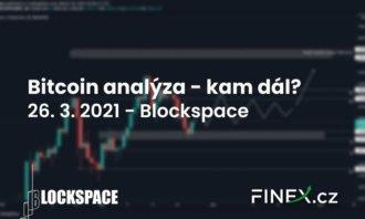[Bitcoin] Analýza 26. 3. 2021 – Jsme na důležitém supportu. Kam dál?