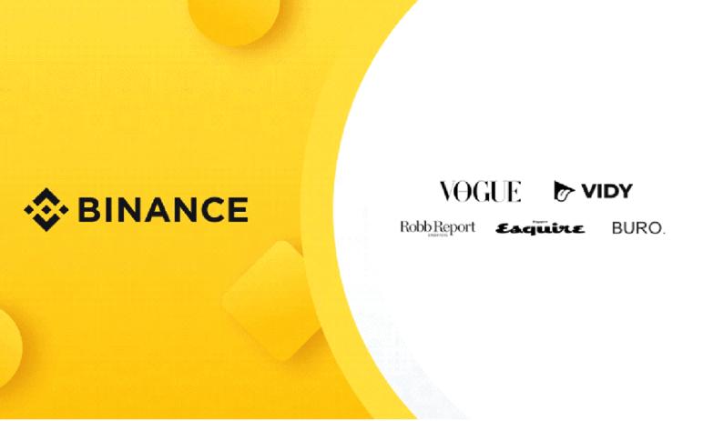 Binance uzavřelo partnerství s VIDY, vydavateli Vogue, Esquire, Robb Report a dalšími a buduje tak svoji NFT platformu