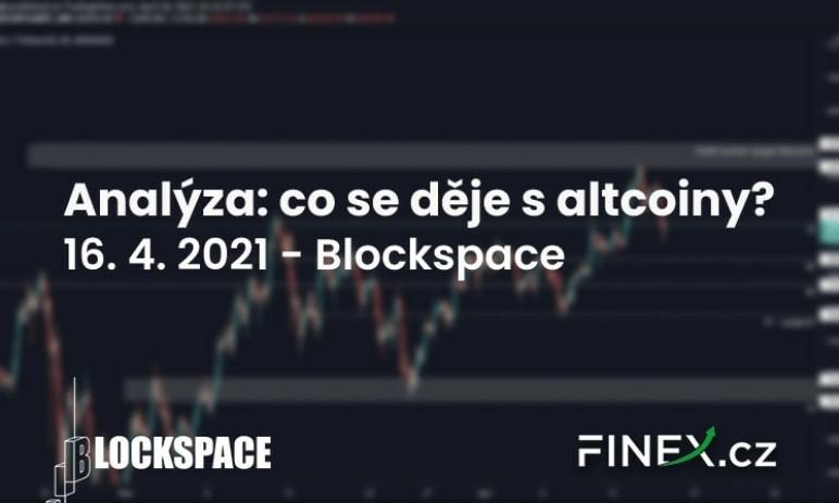 [Bitcoin + Altcoiny] Analýza 16. 4. 2021 – Co s altcoiny?