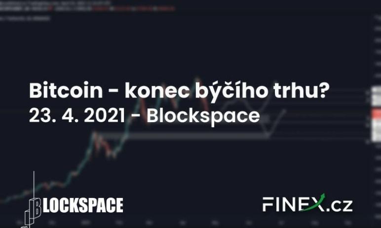 [Bitcoin] Analýza 23. 4. 2021 – Konec býčího trhu, nebo jen korekce?