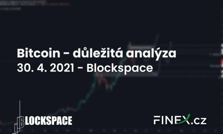 [Bitcoin] Analýza 30. 4. 2021 – Nejdůležitější scénáře pro další týdny