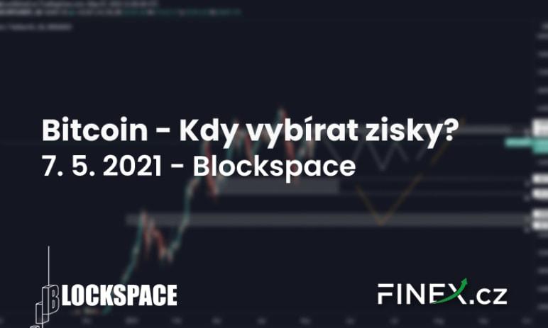 [Bitcoin + Altcoiny] Analýza 7. 5. 2021 – Kdy začít vybírat zisky?