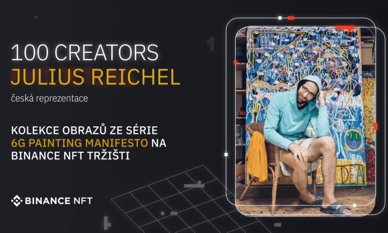 """Burza Binance představila program """"100 Creators"""" pro NFT tržiště, zastoupení mají i čeští umělci"""