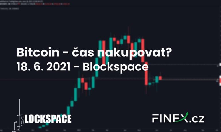 [Bitcoin] Analýza 18. 6. 2021 – Přišel čas nakoupit?