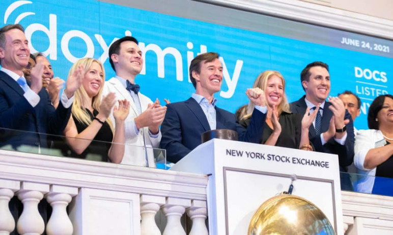 Akcie Doximity vyskočily o 50 % poté, co se společnosti podařilo meziročně zdvojnásobit tržby