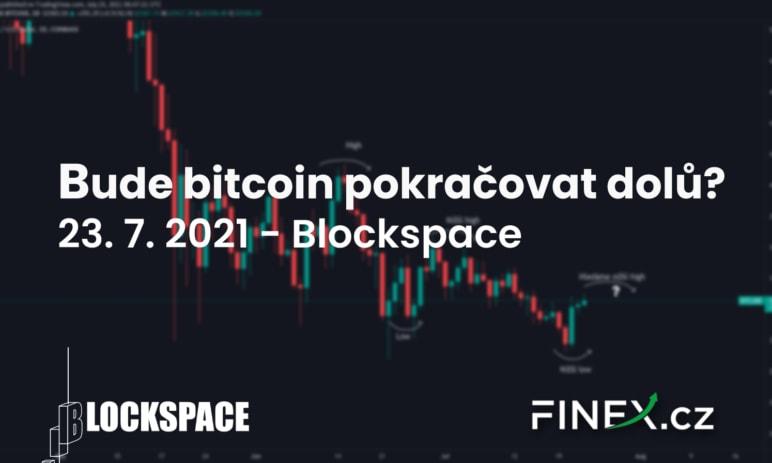 [Bitcoin] Analýza 23. 7. 2021 – Budeme pokračovat dolů? A odkud?