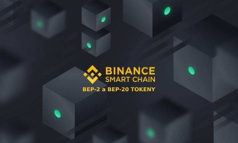 Co jsou tokeny standardů BEP-2 a BEP-20? Jak fungují kyptoměny na Binance Smart Chainu