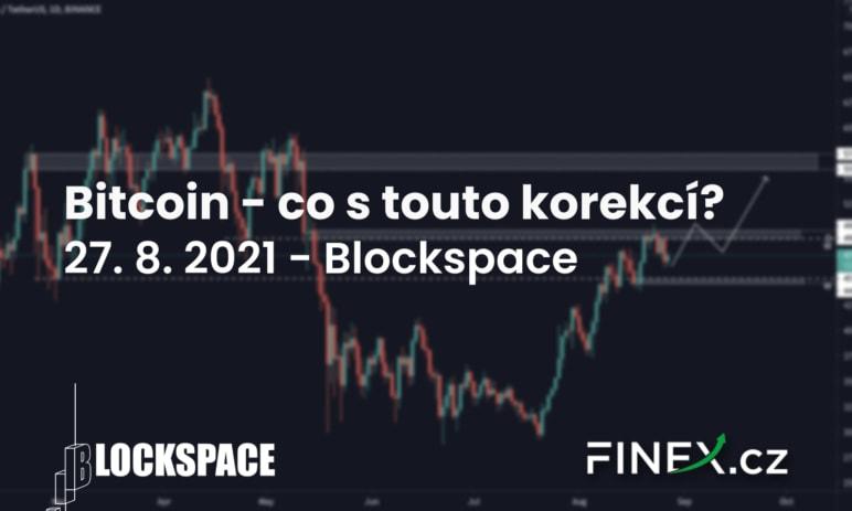 [Bitcoin] Analýza 27. 8. 2021 – Jak důležitá je nynější korekce?