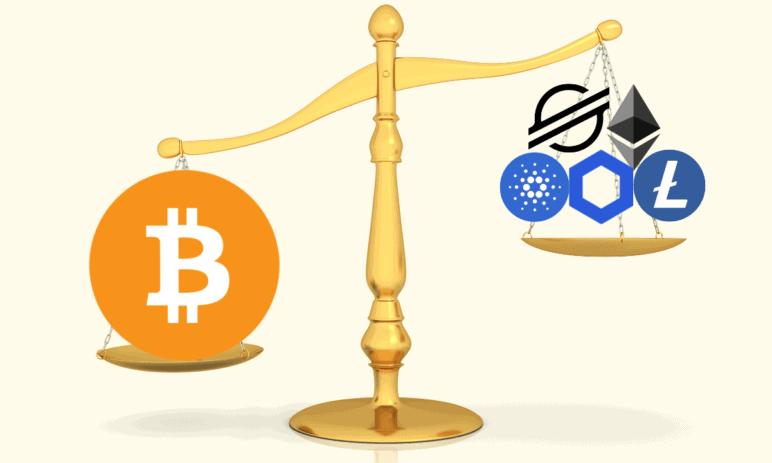 Bitcoin dominance - Vyplatí se obchodovat Bitcoin nebo spíše ostatní kryptoměny?