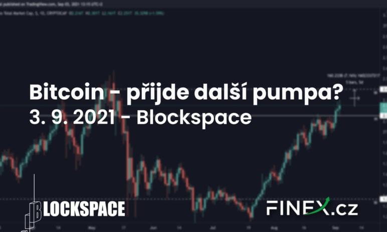 [Bitcoin] Analýza 3. 9. 2021 – Uvidíme další pumpu?